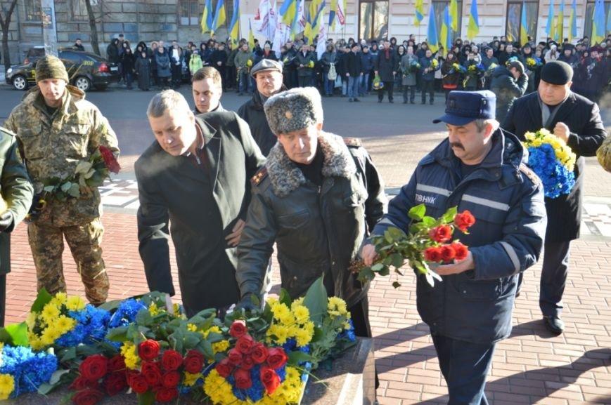 Как в Днепре отметили день Соборности Украины: ОБЗОР (ФОТО), фото-6