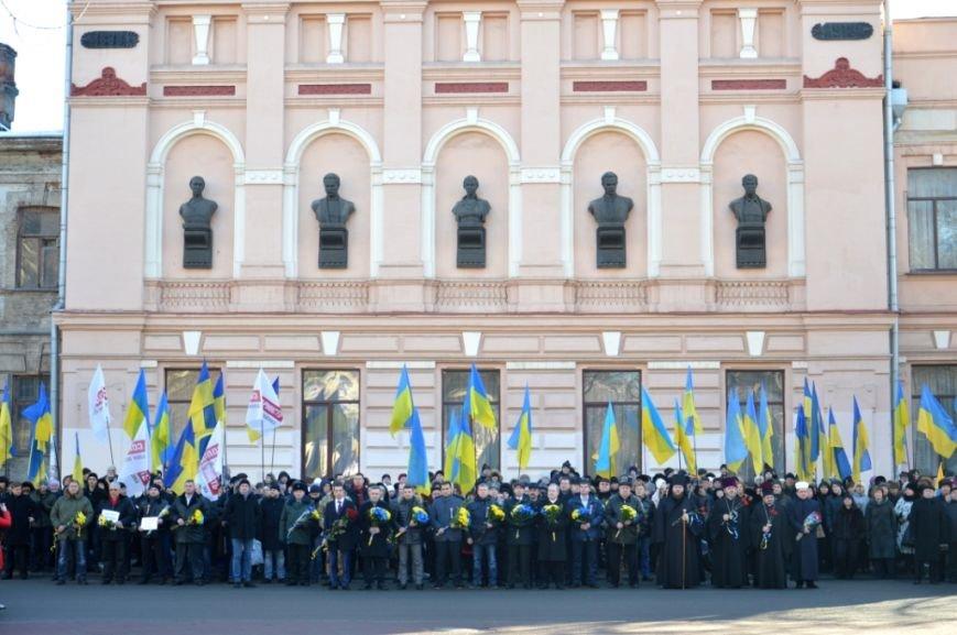 Как в Днепре отметили день Соборности Украины: ОБЗОР (ФОТО), фото-5