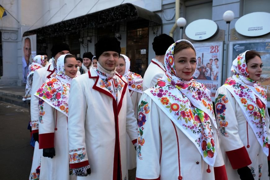 Как в Днепре отметили день Соборности Украины: ОБЗОР (ФОТО), фото-1