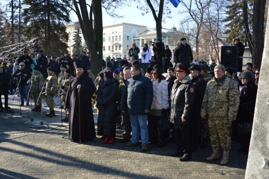 Как в Днепре отметили день Соборности Украины: ОБЗОР (ФОТО), фото-3