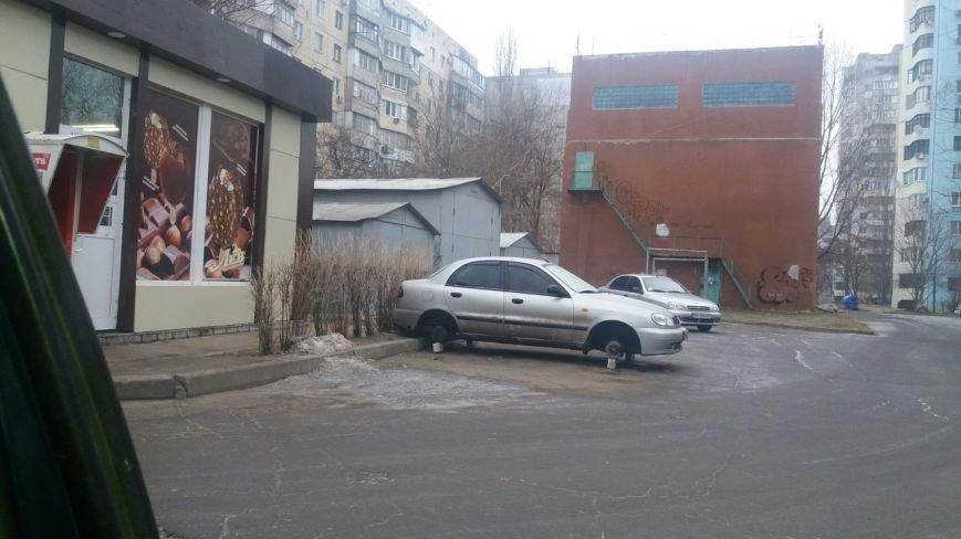 Резиновые воры будоражат одесский поселок Котовского (ФОТО), фото-1