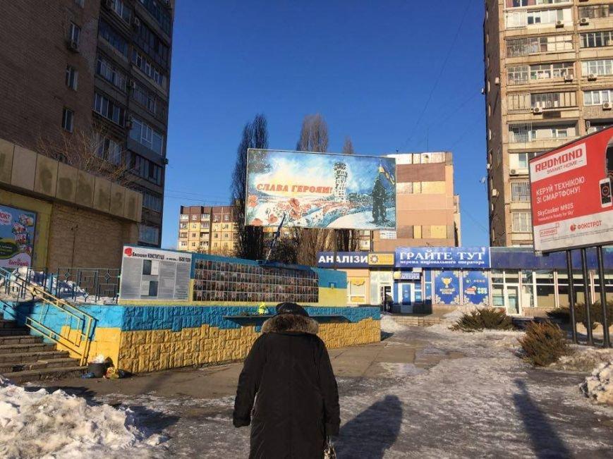 В Кривом Роге повторно сожгли Украинский флаг на стеле Героев (ФОТО), фото-5