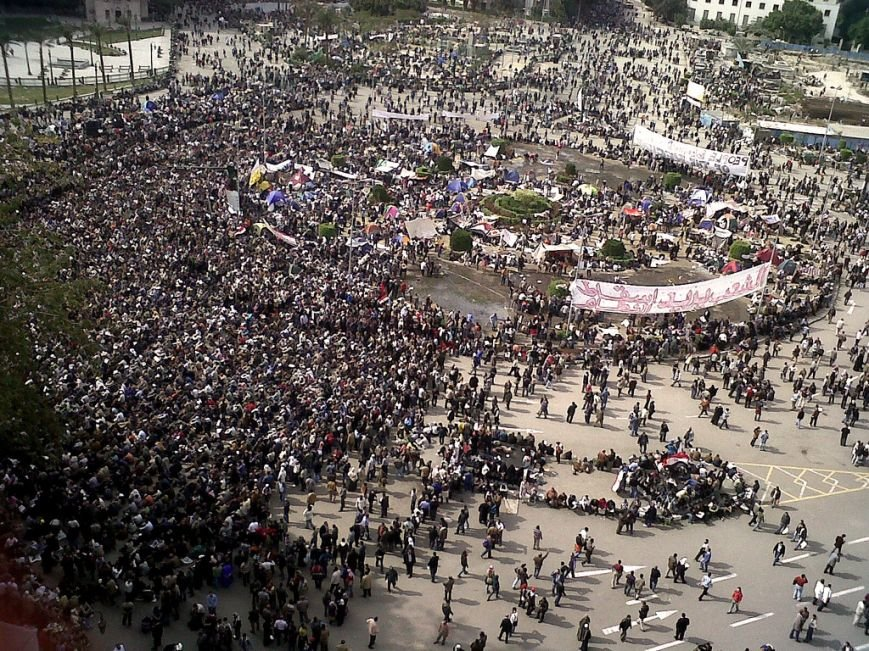 Mona-Seif-Tahrir_Square_during_Friday_of_Departure