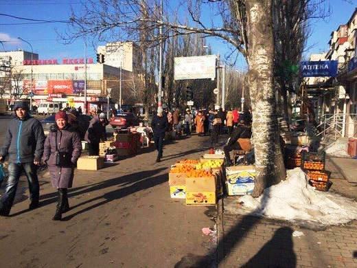 В Одессе борьба с уличной торговлей обернулась пшиком (ФОТО), фото-1
