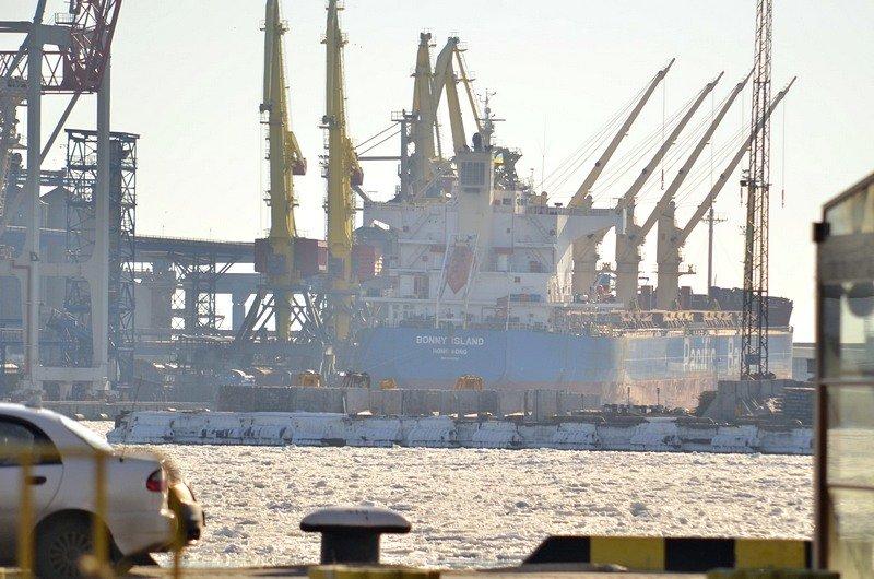 В Одессе лед заковал яхты (ФОТО), фото-8