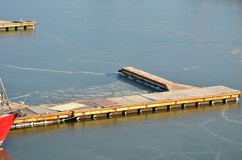 В Одессе лед заковал яхты (ФОТО), фото-3
