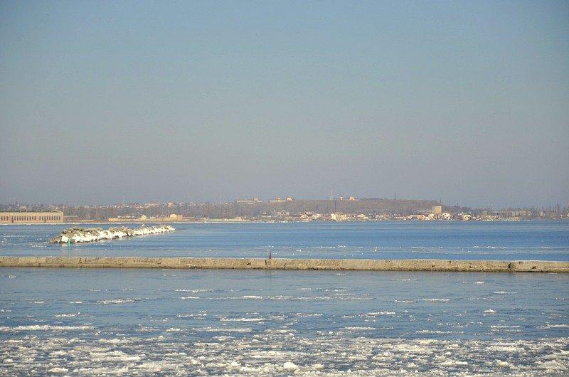 В Одессе лед заковал яхты (ФОТО), фото-2