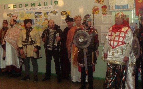 Творческие коллективы Дрогобыча поздравили авдеевцев с Днем Соборности (ФОТО), фото-2