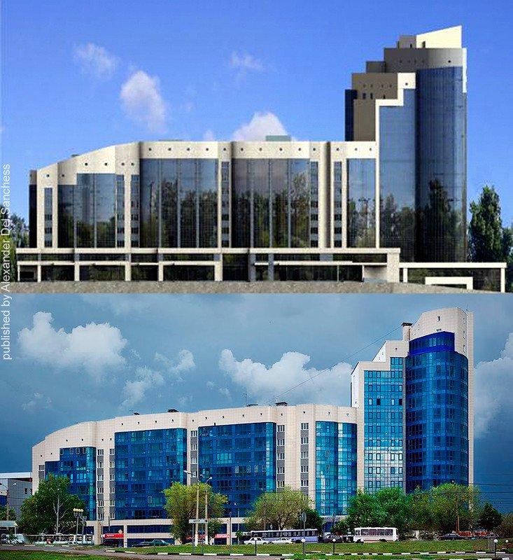 Было-стало. Краевед Санчесс сравнил белгородские здания с их эскизами, фото-1
