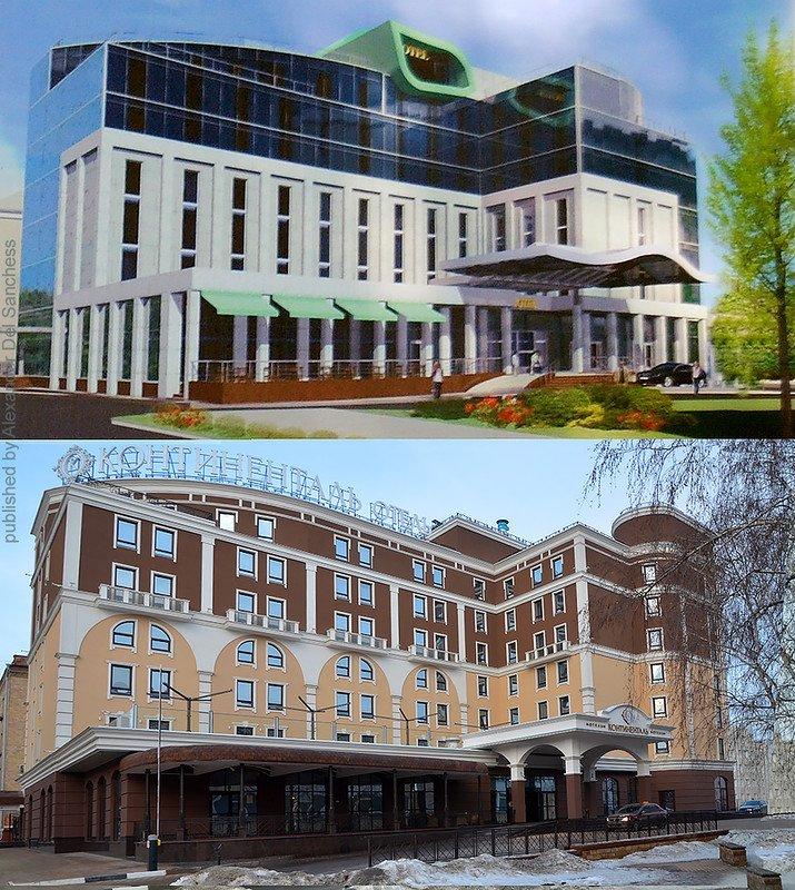 Было-стало. Краевед Санчесс сравнил белгородские здания с их эскизами, фото-4