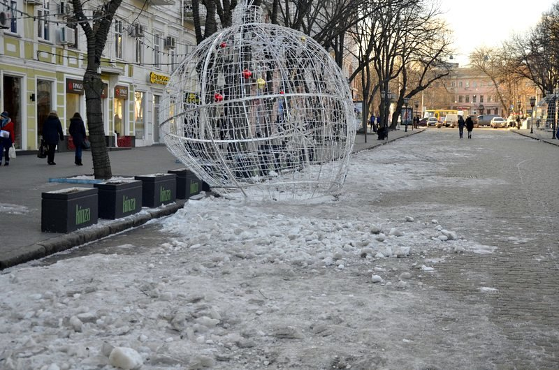 Новогодние украшения исчезнут с улиц Одессы (ФОТО), фото-2