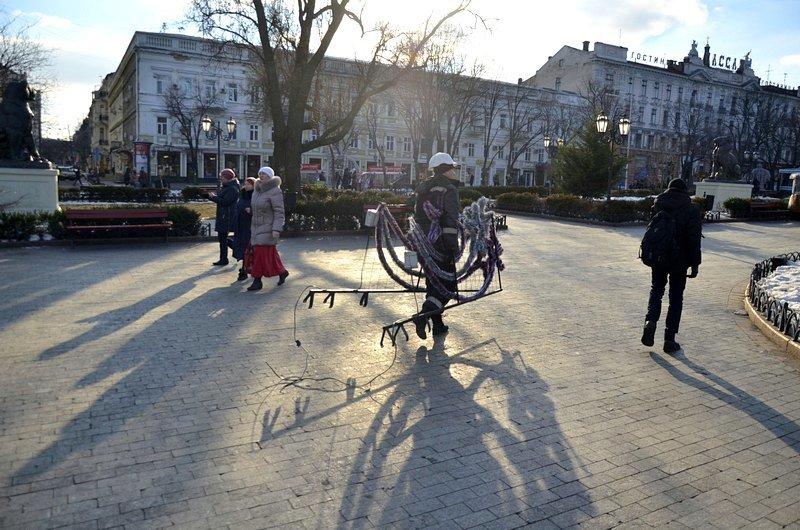 Новогодние украшения исчезнут с улиц Одессы (ФОТО), фото-12