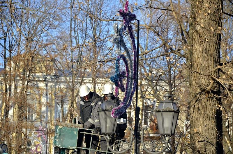 Новогодние украшения исчезнут с улиц Одессы (ФОТО), фото-3
