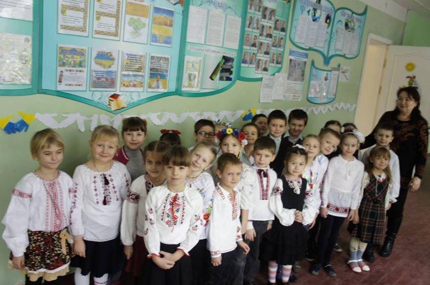 Як в броварській школі День Соборності святкували (Фото), фото-5