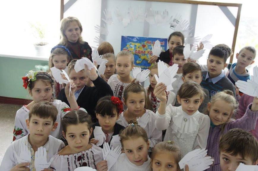 Як в броварській школі День Соборності святкували (Фото), фото-6