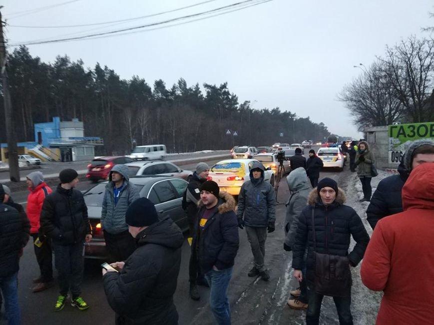 Протести під Києвом: перекривають дороги та палять шини (Фото, Відео), фото-4