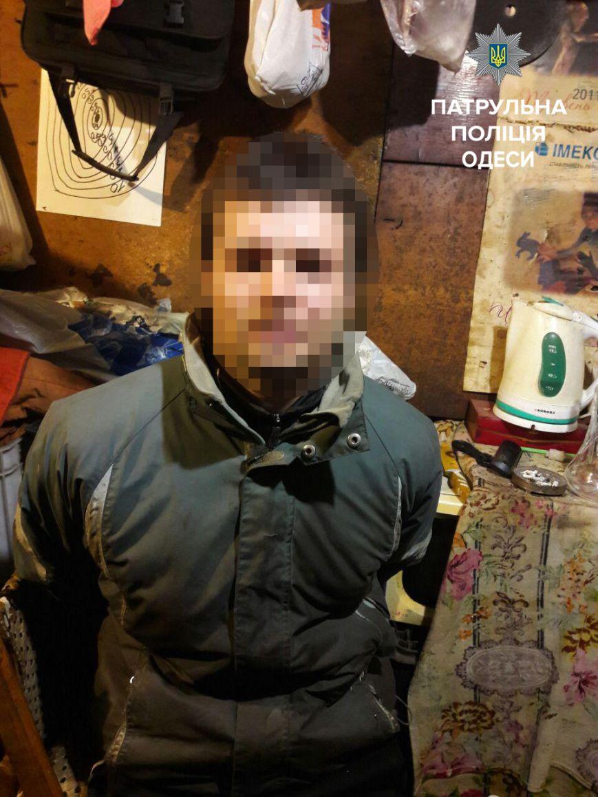 В Одессе на мужчину напали с ножом, фото-1