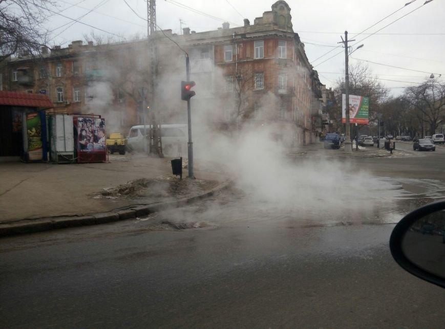 Дымовая завеса: В центре Одессы коммунальный коллапс, фото-1