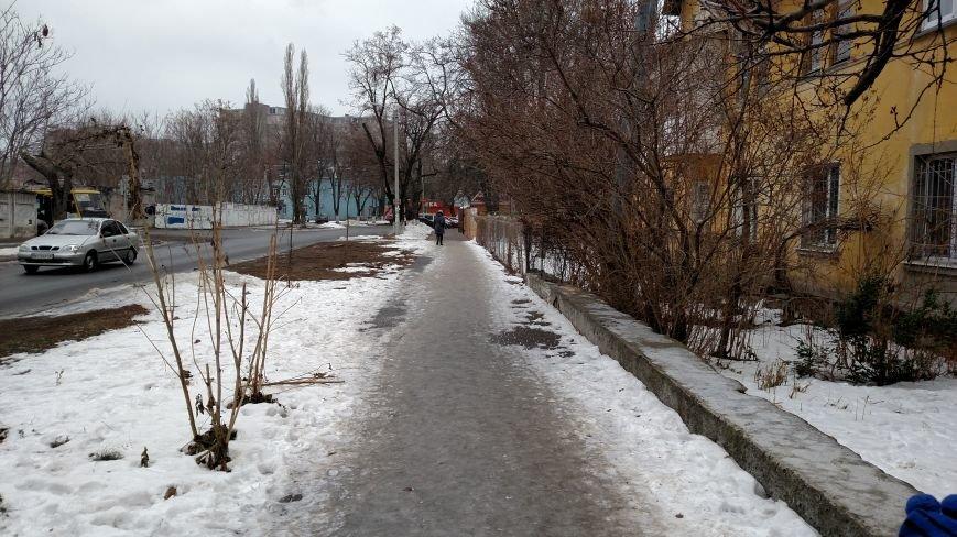 Одесские тротуары очистят от льда в мае (ФОТО), фото-4