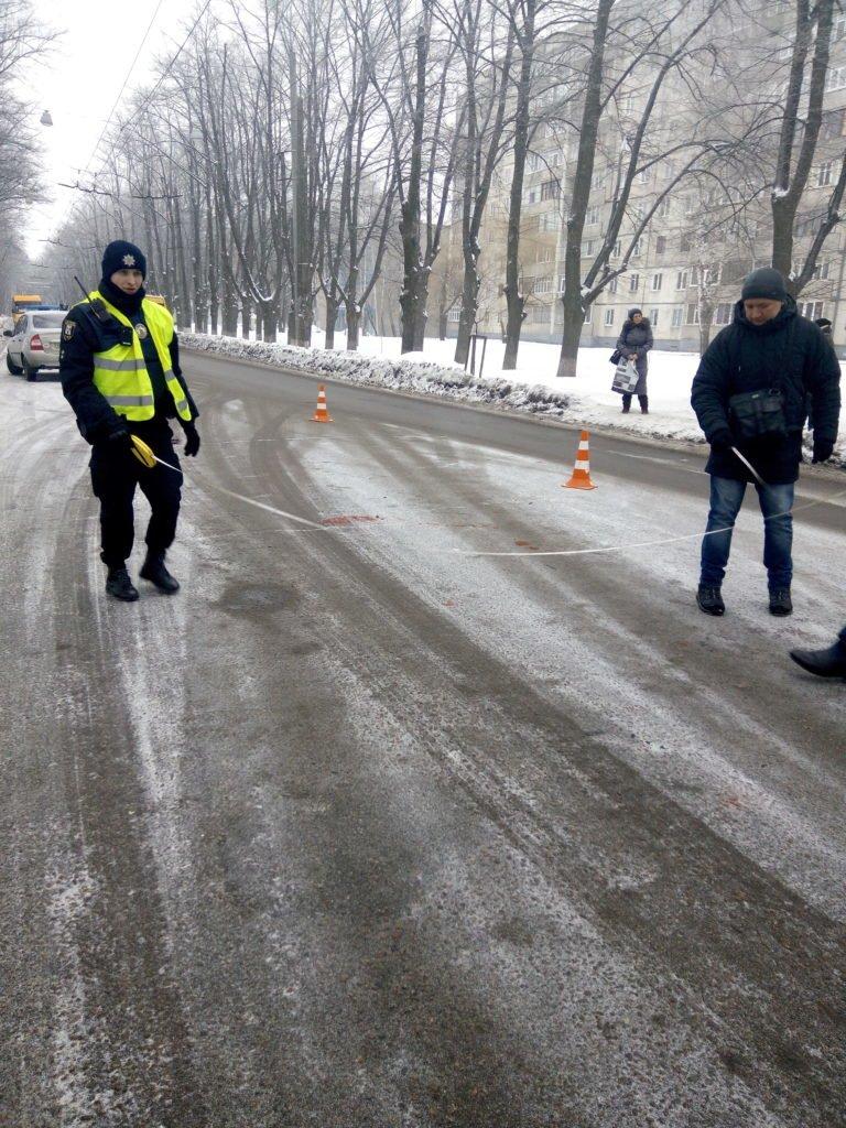 В Сумах возле Центрального кладбища сбили пешехода (ФОТО), фото-1
