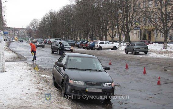 ДТП на Сумщине: 19-летний водитель сбил 16-летнюю девушку (ФОТО), фото-1