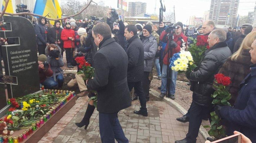 """В Мариуполе ко второй годовщине обстрела  """"Восточного"""" появился новый памятник (ФОТО), фото-7"""