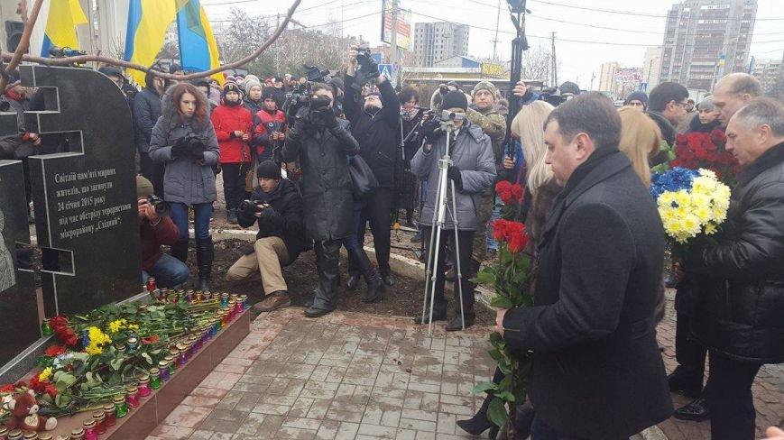 """В Мариуполе ко второй годовщине обстрела  """"Восточного"""" появился новый памятник (ФОТО), фото-6"""
