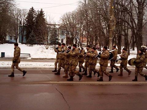 В Конотопі відзначали День Соборності України (+ВІДЕО), фото-1