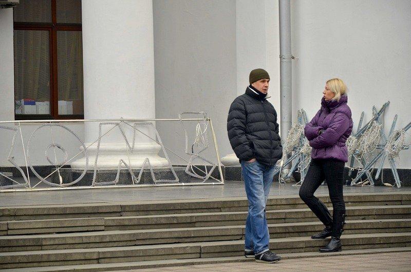 В Одессе убрали главную ёлку (ФОТО), фото-3