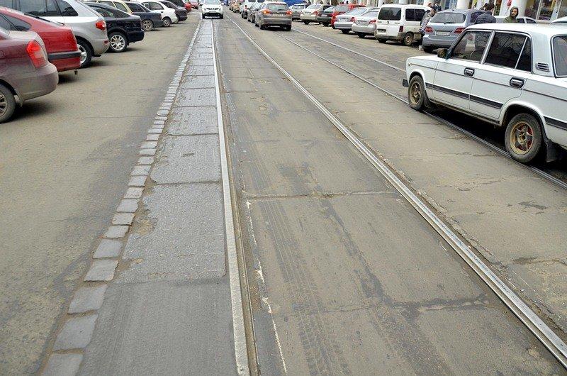 Трамвай возле Привоза сошел с рельсов на ровном месте, фото-1