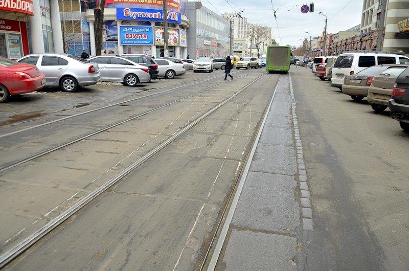 Трамвай возле Привоза сошел с рельсов на ровном месте, фото-2