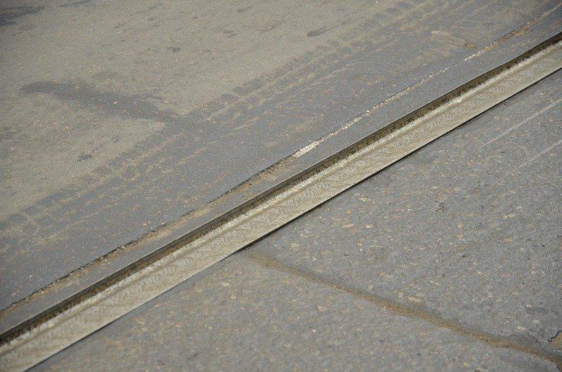 Трамвай возле Привоза сошел с рельсов на ровном месте, фото-3