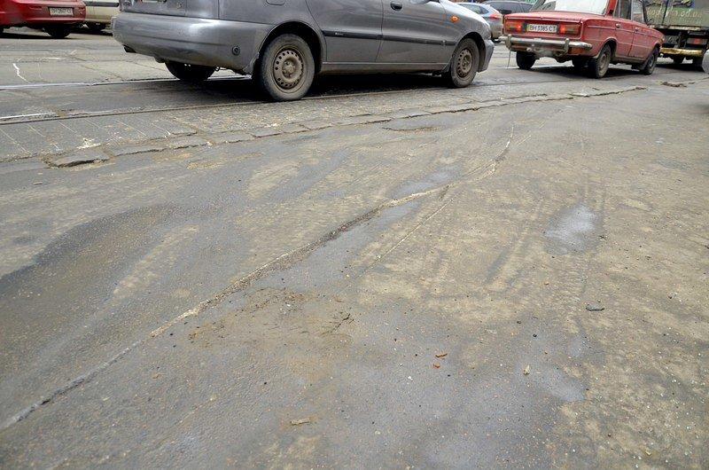 Трамвай возле Привоза сошел с рельсов на ровном месте, фото-6