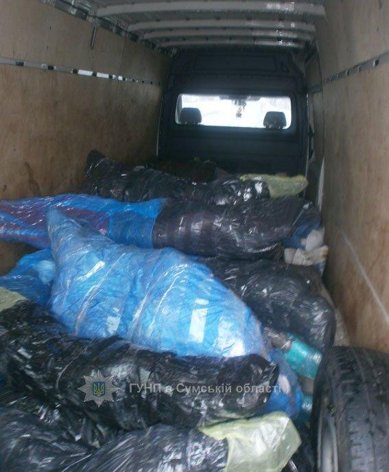 На Сумщине арестовали автомобили, перевозившие более 4 тонн мяса (ФОТО), фото-2