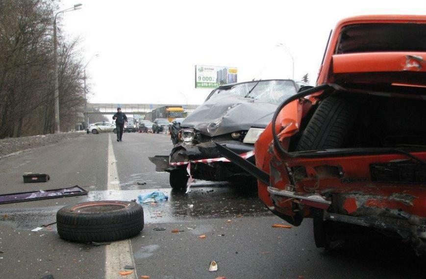 ДТП на Броварському проспекті: є постраждалі (Фото), фото-1