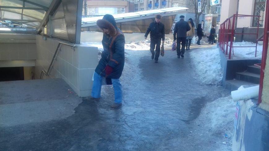 Из-за непосыпанных тротуаров уже травмировались свыше трехсот криворожан (ФОТО), фото-7