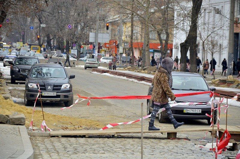 В центре Одессы появилась нелегальная парковка (ФОТО), фото-1