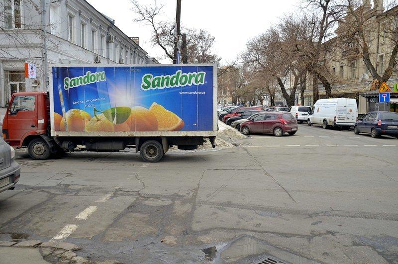 В центре Одессы появилась нелегальная парковка (ФОТО), фото-3