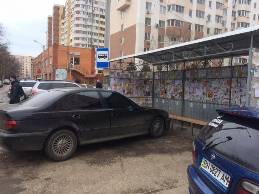 В Одессе объявился автохам на BMW 80-го уровня (ФОТО), фото-1