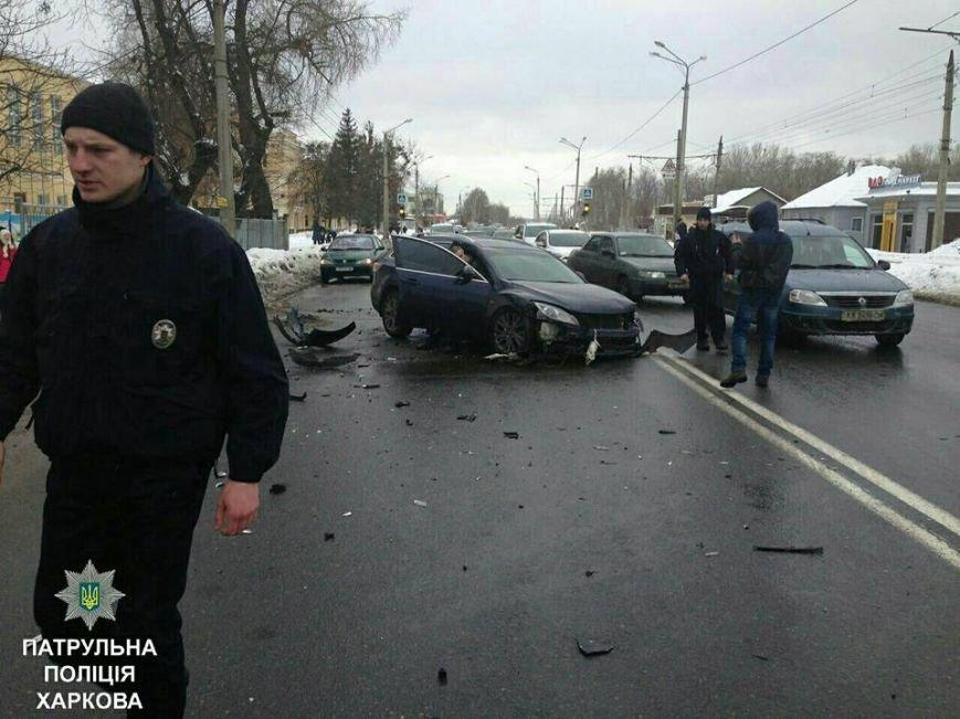 Из-за тройного ДТП на улице Шевченко образовалась пробка (ФОТО), фото-1