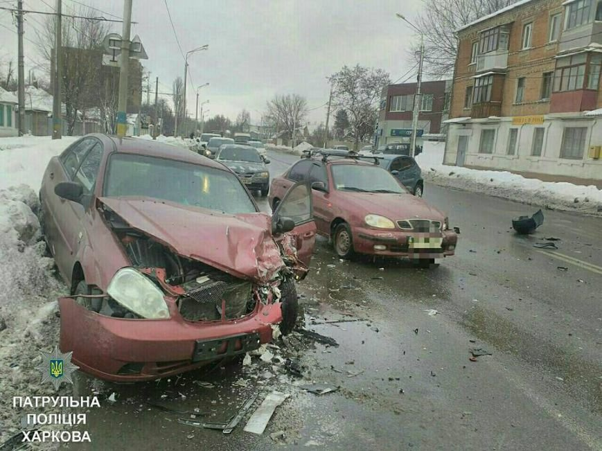 Из-за тройного ДТП на улице Шевченко образовалась пробка (ФОТО), фото-3