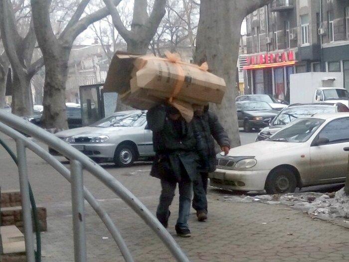 По центру Одессы расхаживал человек-муравей (ФОТОФАКТ), фото-1
