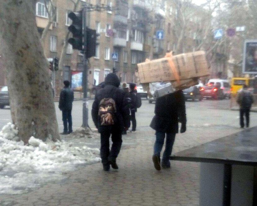 По центру Одессы расхаживал человек-муравей (ФОТОФАКТ), фото-2