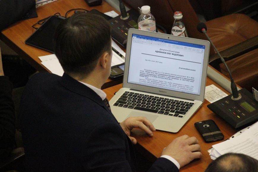 Запорожские депутаты собрались на сессию, - ФОТОРЕПОРТАЖ, фото-13