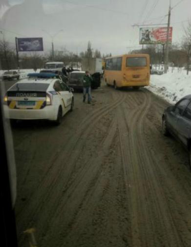 ДТП в Сумах: на ул. Харьковской столкнулись 4 автомобиля (ФОТО), фото-4