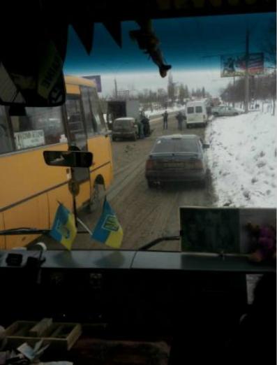 ДТП в Сумах: на ул. Харьковской столкнулись 4 автомобиля (ФОТО), фото-1