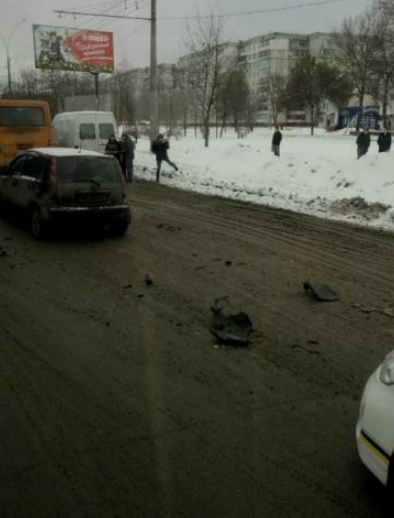 ДТП в Сумах: на ул. Харьковской столкнулись 4 автомобиля (ФОТО), фото-3