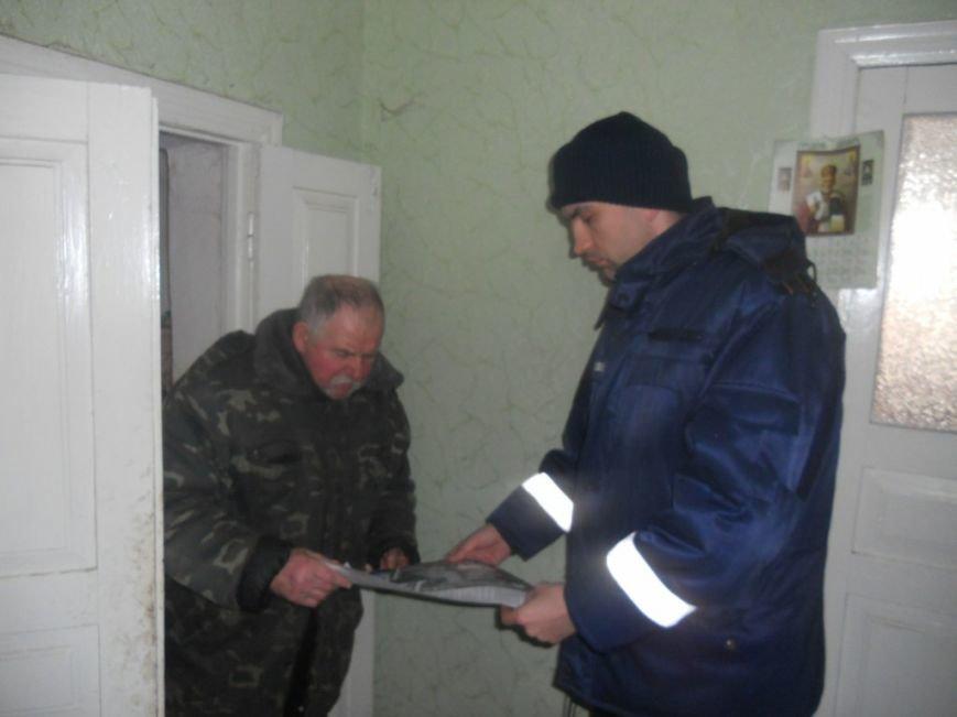 Рятувальники провели пожежно-профілактичне відпрацювання в селі Бобрик Броварського району (Фото), фото-1