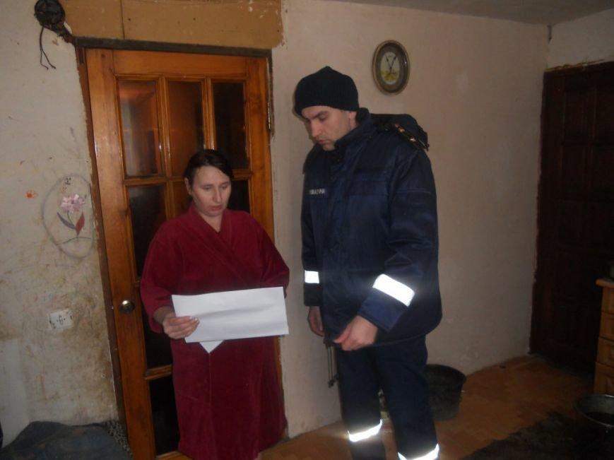 Рятувальники провели пожежно-профілактичне відпрацювання в селі Бобрик Броварського району (Фото), фото-3