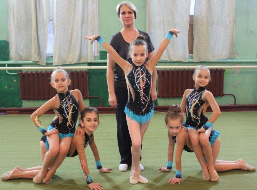гимнастки дети